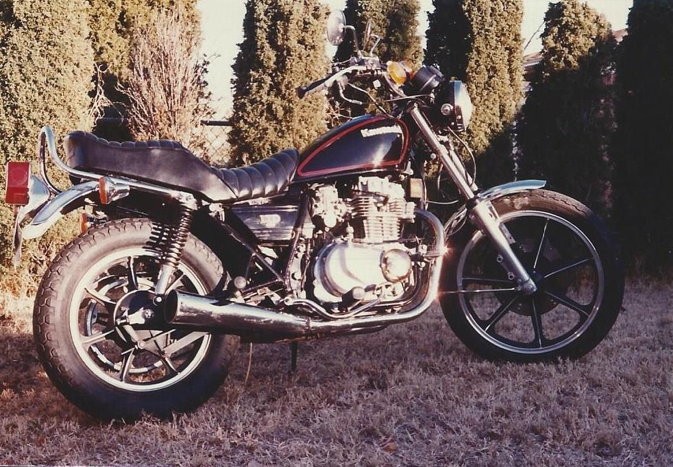 Kawasaki LTD440 Backyard
