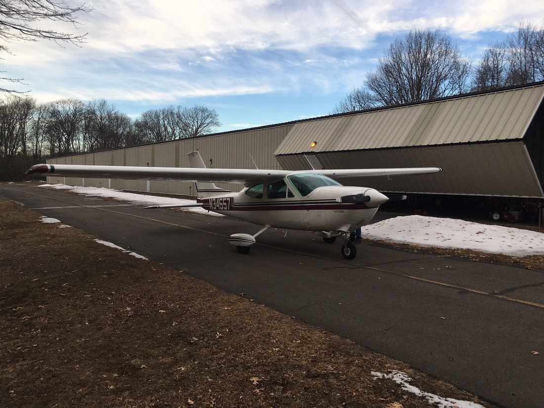 Cessna and Hanger