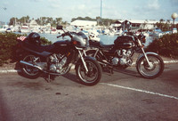 CB750K and Yamaha Seca 550